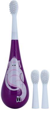 Violife Rockee Ellie periuta de dinti pentru copii + 2 capete de schimb