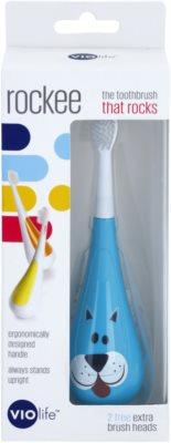 Violife Rockee Marley periuta de dinti pentru copii + 2 capete de schimb 2
