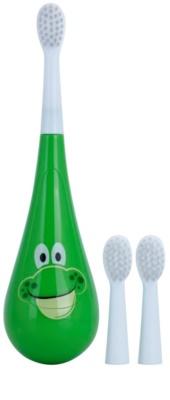 Violife Rockee Ribbit periuta de dinti pentru copii + 2 capete de schimb