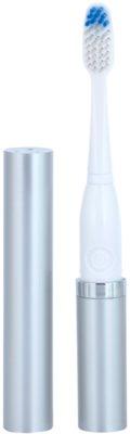 Violife Slim Sonic Silver Baterie periuță de dinți sonic, cu cap de rezervă