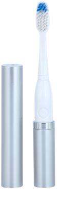 Violife Slim Sonic Silver електрична зубна щітка на батарейках із запасною головкою