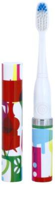 Violife Slim Sonic Stylish baterijska sonična zobna ščetka z nadomestno glavo