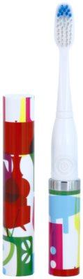 Violife Slim Sonic Stylish escova de dentes sónica elétrica com cabeça de reposição