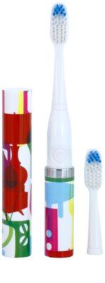 Violife Slim Sonic Stylish Baterie periuță de dinți sonic, cu cap de rezervă 1