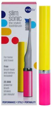 Violife Slim Sonic Sunset escova de dentes sónica elétrica com cabeça de reposição 3