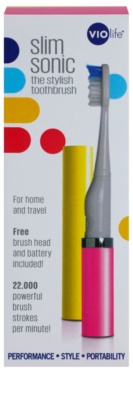 Violife Slim Sonic Sunset звукова четка за зъби на батерии с резервна глава 4