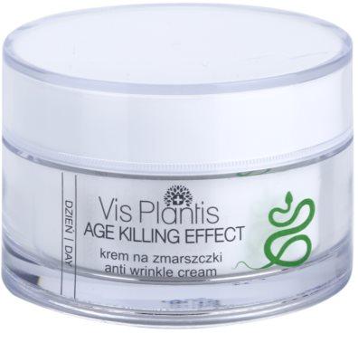 Vis Plantis Age Killing Effect crema de día  antiarrugas  con veneno de serpiente