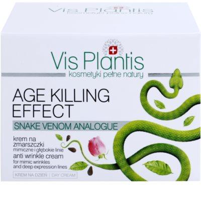 Vis Plantis Age Killing Effect nappali ránctalanító krém kígyóméreggel 3