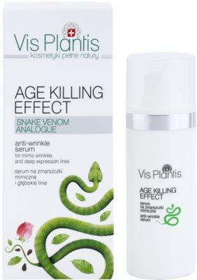Vis Plantis Age Killing Effect sérum antiarrugas con veneno de serpiente 2