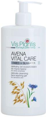 Vis Plantis Avena Vital Care čisticí gel pro citlivou pleť
