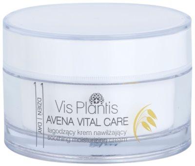 Vis Plantis Avena Vital Care успокояващ крем за чувствителна кожа на лицето