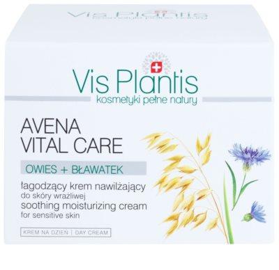 Vis Plantis Avena Vital Care успокояващ крем за чувствителна кожа на лицето 3