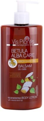 Vis Plantis Betula Alba Care leite corporal regenerador