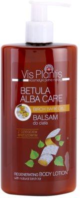 Vis Plantis Betula Alba Care regenerační tělové mléko