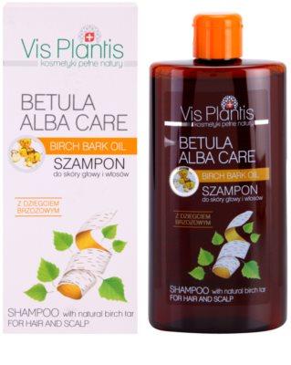 Vis Plantis Betula Alba Care champú suave para cabello y cuero cabelludo 1