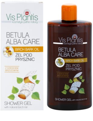 Vis Plantis Betula Alba Care gel de duche suave 1
