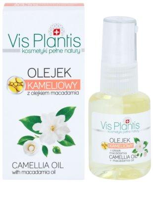 Vis Plantis Care Oils aceite de camelia  y macadamia para cara, cuerpo y cabello 1