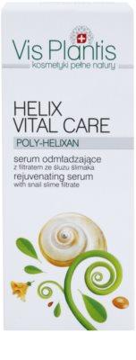Vis Plantis Helix Vital Care омолоджуюча сироватка для обличчя з екстрактом равлика 3