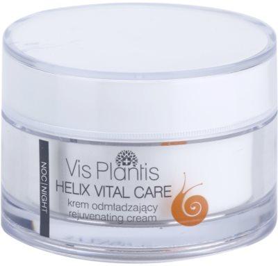 Vis Plantis Helix Vital Care crema de noche rejuvenecedora  con extracto de baba de caracol