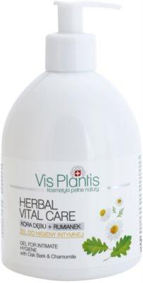 Vis Plantis Herbal Vital Care gel apaziguador para higiene íntima