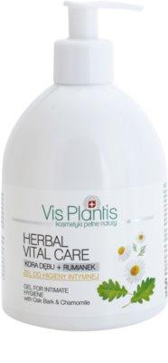Vis Plantis Herbal Vital Care zklidňující gel na intimní hygienu