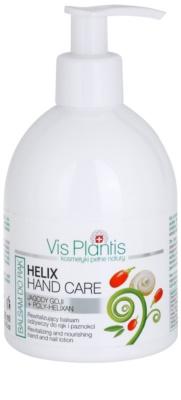 Vis Plantis Helix Hand Care regeneráló balzsam kézre és körmökre