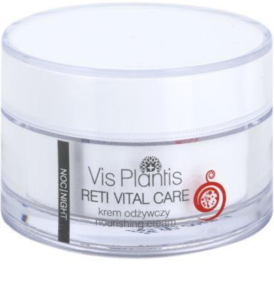 Vis Plantis Reti Vital Care нічний крем проти зморшок з поживною ефекту