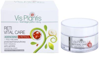 Vis Plantis Reti Vital Care нічний крем проти зморшок з поживною ефекту 2