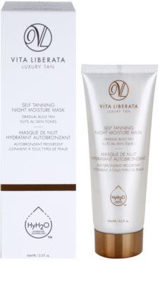 Vita Liberata Skin Care máscara de noite hidratante com efeito autobronzeador 1