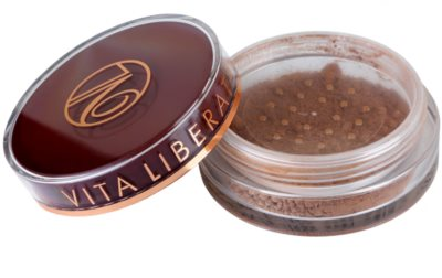 Vita Liberata Trystal Minerals pó bronzeador com pincel 1