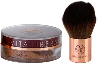 Vita Liberata Trystal Minerals pó bronzeador com pincel