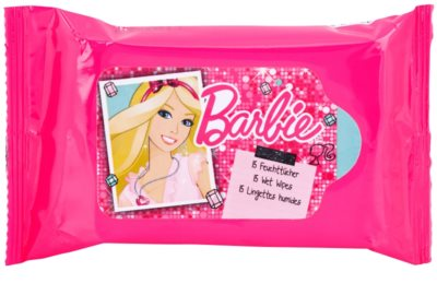 VitalCare Barbie vlhčené ubrousky pro děti