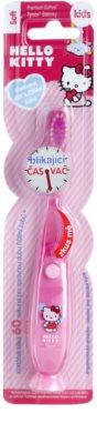 VitalCare Hello Kitty zobna ščetka za otroke z utripajočim časomerom 1