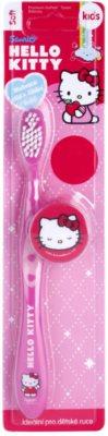 VitalCare Hello Kitty zobna ščetka za otroke s potovalnim pokrovčkom