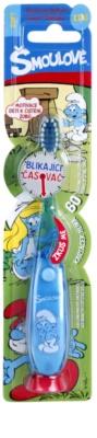 VitalCare The Smurfs szczoteczka do zębów dla dzieci z migającym minutnikiem