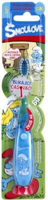 VitalCare The Smurfs zubní kartáček pro děti s blikajícím časovačem