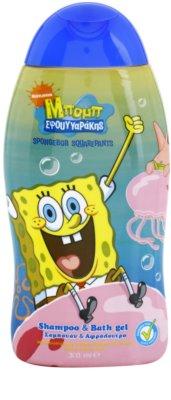 VitalCare SpongeBob sampon és tusfürdő gél gyermekeknek 2 az 1-ben