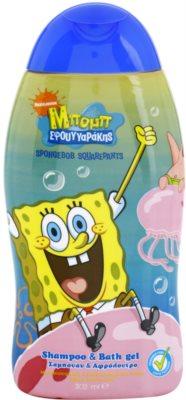 VitalCare SpongeBob Shampoo und Duschgel für Kinder 2in1