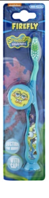 VitalCare SpongeBob gyermek fogkefe fedővel gyenge