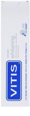 Vitis Whitening dentífrico com efeito branqueador para dentes sensíveis 2