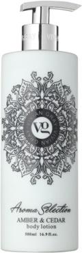 Vivian Gray Aroma Selection Amber & Cedar lotiune de corp