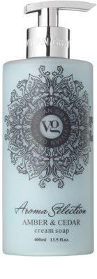 Vivian Gray Aroma Selection Amber & Cedar flüssige Cremeseife