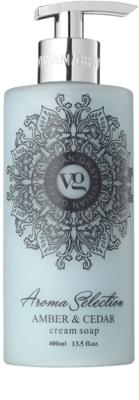Vivian Gray Aroma Selection Amber & Cedar krémes folyékony szappan