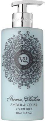 Vivian Gray Aroma Selection Amber & Cedar krémové tekuté mydlo