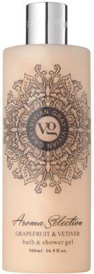 Vivian Gray Aroma Selection Grapefruit & Vetiver gel de ducha y para baño