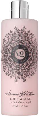 Vivian Gray Aroma Selection Lotus & Rose sprchový a kúpeľový gél