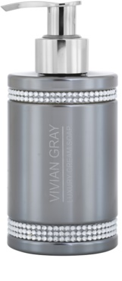 Vivian Gray Crystals Gray jabón cremoso de lujo