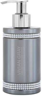 Vivian Gray Crystals Gray luxuriöse Cremeseife