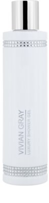 Vivian Gray Crystals White luxuriöses Duschgel