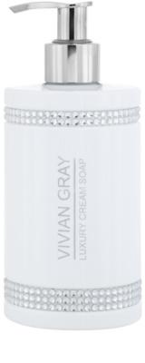 Vivian Gray Crystals White luksusowe kremowe mydło